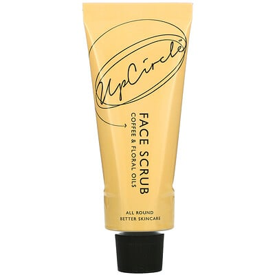 UpCircle Face Scrub, Floral Blend, 100 ml