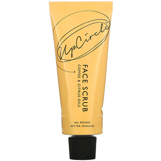 UpCircle, Coffee Face Scrub, Citrus Blend, For Dry Skin,  100 ml