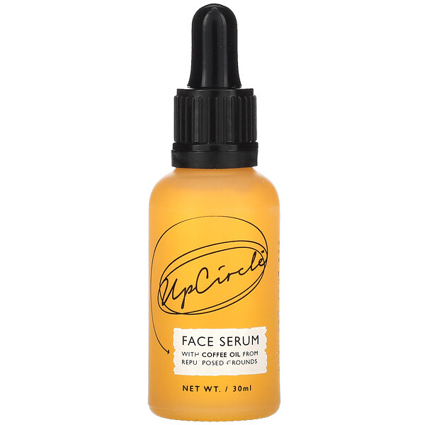 Face Serum with Coffee Oil, Hydrate +Firm, 30 ml
