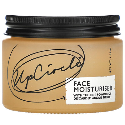 UpCircle Face Moisturiser with Argan Powder, 50 ml