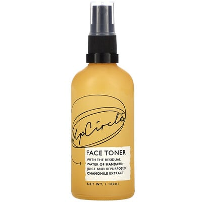 UpCircle Face Toner with Mandarin and Chamomile, 100 ml
