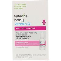 Витамин D3 в Каплях, для Ребенка, 0,076 жидких унций (2.25 мл) - фото