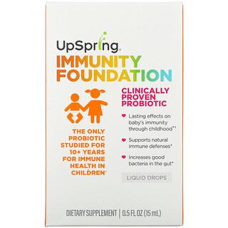 UpSpring, Immunity Foundation, Liquid Drops, 0.5 fl oz ( 15 ml)