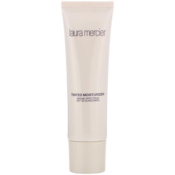 Laura Mercier, Tinted Moisturizer, SPF 20 Sunscreen, 4C1 Almond, 1.7 fl oz (50 ml) (Discontinued Item)