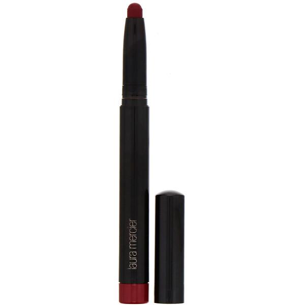 Laura Mercier, Velour Extreme Matte Lipstick, Hot,  0.035 oz (1.4 g) (Discontinued Item)