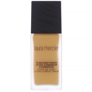 Laura Mercier, Flawless Fusion, Ultra-Longwear Foundation, 5W1 Amber, 1 fl oz (30 ml)