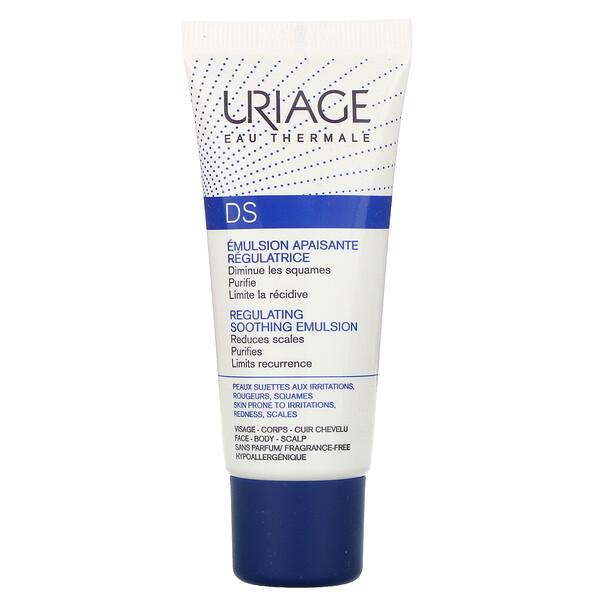 DS, Regulating Soothing Emulsion, Fragrance-Free, 1.35 fl oz (40 ml)
