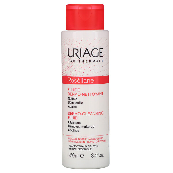Uriage, Roseliane, Dermo-Cleansing Fluid, 8.4 fl oz (250 ml)