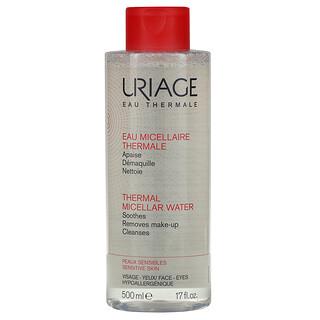 Uriage, Thermal Micellar Water, 17 fl oz (500 ml)