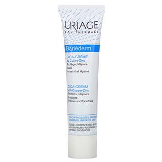 Uriage, Bariederm, Cica-Cream with Copper-Zinc, Fragrance-Free, 1.35 fl oz (40 ml)