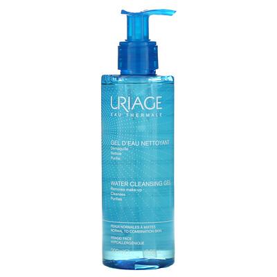 Uriage Water Cleansing Gel, 6.8 fl oz (200 ml)