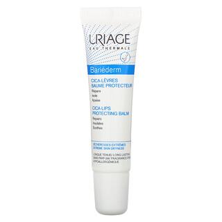 Uriage, バリエデルム、シカ-リップ プロテクティング リップクリーム、無香料、15ml(0.5液量オンス)