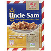 U.S Mills, Uncle Sam Cereal, Toasted Whole Wheat Berry Flakes and Flaxseed, 10 oz (284 g)