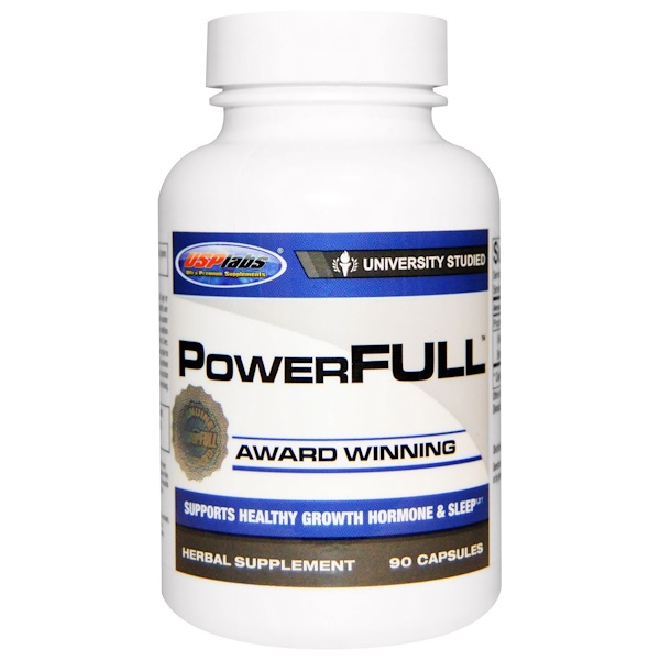 USP Labs, PowerFull, 90 Capsules
