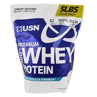 USN, 100% Premium Whey Protein, WheyTella, 5 lbs (2.27 kg)