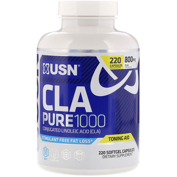 USN, CLA Pure 1000, 220 Softgel Capsules (Discontinued Item)