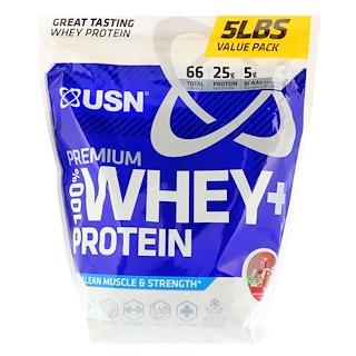 USN, Premium 100% Whey + Protein, Wheytella, 5 lbs (2.27 kg)