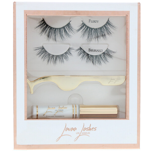 Lavaa Lashes, The Perfect Set, 1 Set (Discontinued Item)