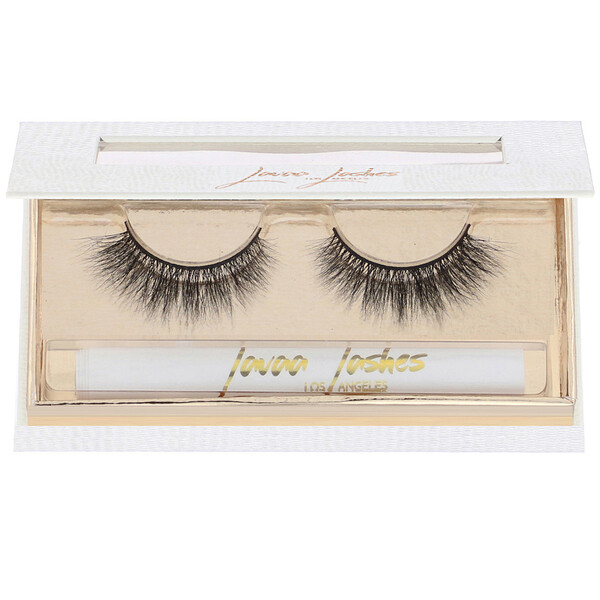 Sweetheart, 3D Mink False Eyelashes, 1 Pair