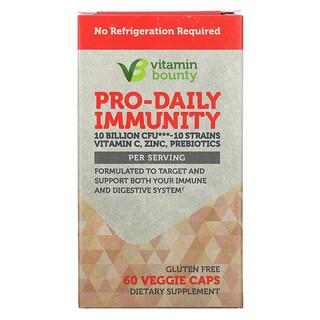 Vitamin Bounty, Pro-Daily Immunity, 10 Billion CFU, 60 Veggie Caps