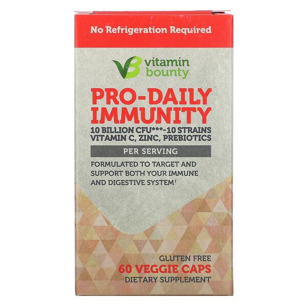 Pro-Daily Immunity, 10 Billion CFU, 60 Veggie Caps