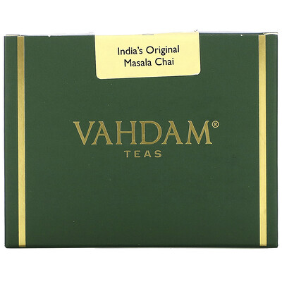 Купить Vahdam Teas India's Original Masala Chai, 3.53oz (100 g)