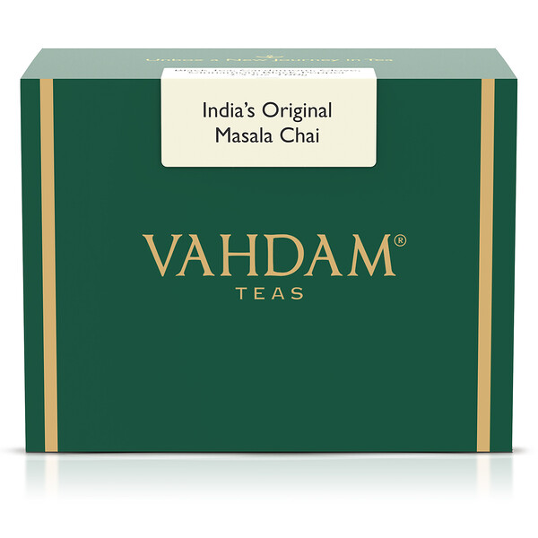 Vahdam Teas, India's Original Masala Chai, 3.53oz (100 g)