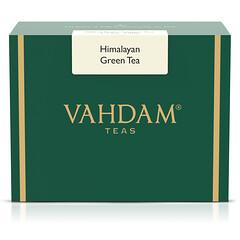 Vahdam Teas, 綠茶,喜馬拉雅,3.53 盎司(100 克)