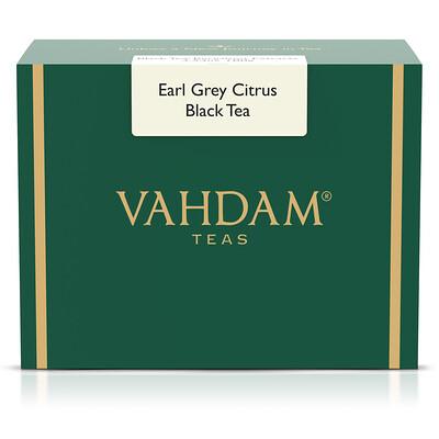 Vahdam Teas Earl Grey, черный чай, цитрусовый, 454г (16унций)