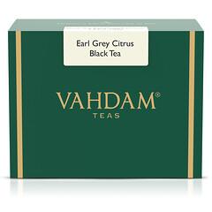 Vahdam Teas, 格雷伯爵柑橘紅茶,16 盎司(454 克)