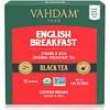 Vahdam Teas, 紅茶、イングリッシュブレックファスト、ティーバッグ15袋、30g(1.06オンス)