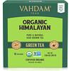 Vahdam Teas, 녹차, 유기농 히말라야산, 티백 15개, 30g(1.06oz)