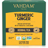 Vahdam Teas, Herbal Tea, Turmeric Ginger, Caffeine Free, 15 Infusion Bags, 1.06 oz (30 g)