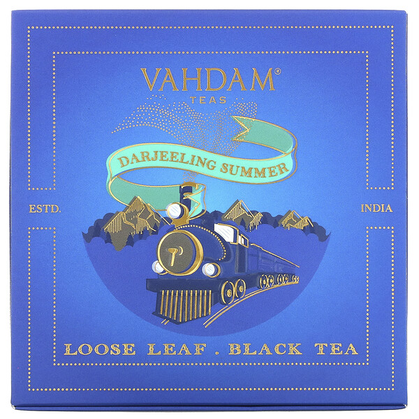 Loose Leaf Black Tea, Darjeeling Summer Gift Set,  1 Tin Caddy