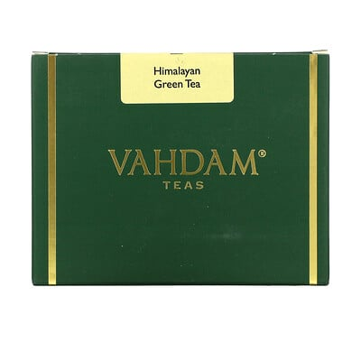 Vahdam Teas Himalayan Green Tea, 3.53 oz (100 g)  - купить со скидкой