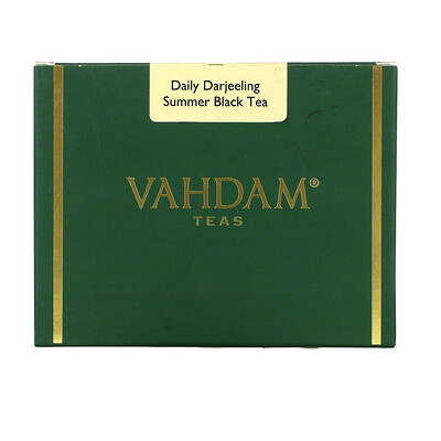 Купить Vahdam Teas Daily Darjeeling Summer Black Tea, 3.53 oz (100 g)