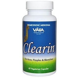 Vaxa International, Clearin, 60 Veggie Caps