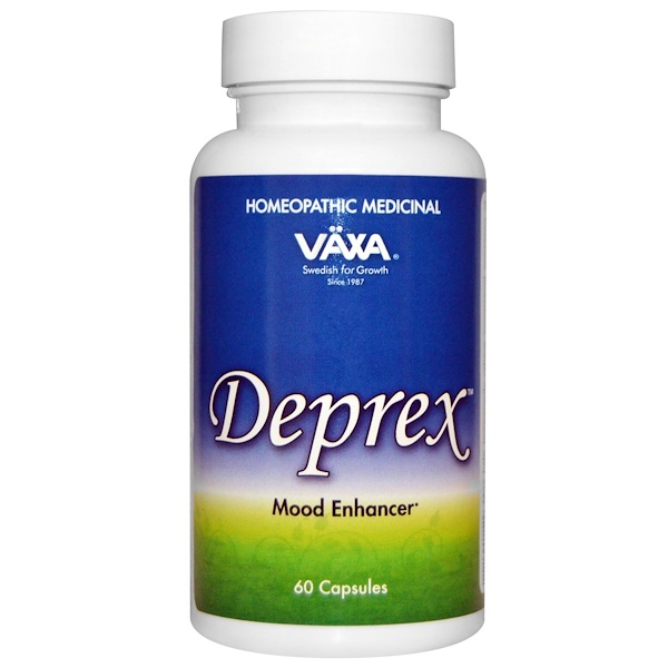 Vaxa International, Deprex, 60 Capsules (Discontinued Item)