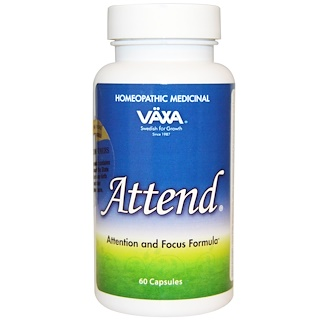 Vaxa International, Attend, 60 Capsules