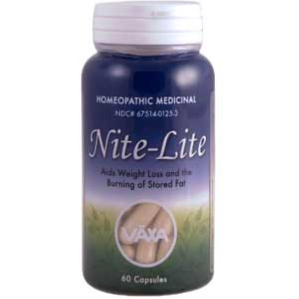 Vaxa International, Nite-Lite, 60 Capsules (Discontinued Item)