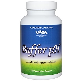 Vaxa International, Buffer pH, 120 капсул