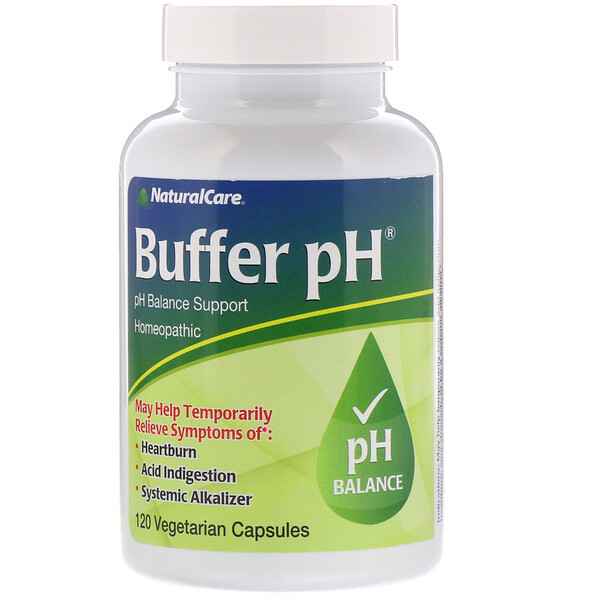 Vaxa International, Buffer pH, 120 Vegetarian Capsules