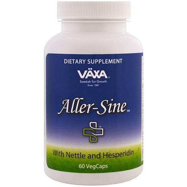 Vaxa International, Aller-Sine, 60 Vegetarian Capsules (Discontinued Item)