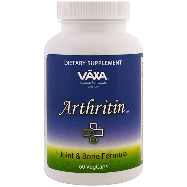 Vaxa International, Arthritin, 60 Veggie Caps (Discontinued Item)