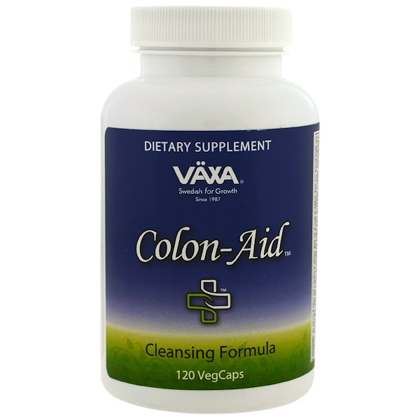 Vaxa International, Colon Aid, 120 VegCaps