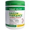 Vibrant Health, グリーンバイブランス+ プロバイオティクス2500億、バージョン16.0、25.04 oz (709.8 g)