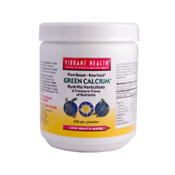 Vibrant Health, Super Natural Calcium Powder, 200g (Discontinued Item)