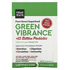 Vibrant Health, Green Vibrance +25 Billion Probiotics, Version 19.0, 15 Packets, 5.96 oz (168.9 g)