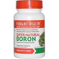 Super Natural Boron, 60 растительных капсул - фото