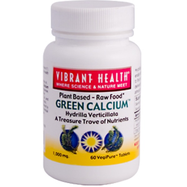 Vibrant Health, Super Natural Calcium Tablets, 60 Tablets (Discontinued Item)